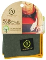 Natural Fitness - Yoga Hand Towel Carbon/Sun by Natural Fitness
