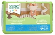 Seventh Generation - Free and Clear Training Pants Unisex 4T-5T (38+ Lbs.) - 17 Pack