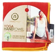 Image of Natural Fitness - Yoga Hand Towel Red Rock/Sun