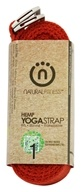Image of Natural Fitness - Hemp Yoga Strap Flame - 8 ft.