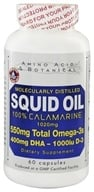 Amino Acid & Botanical - Squid Oil with Vitamin D - 60 Capsules