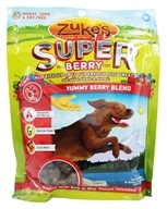 Zuke's - Super Berry Soft Dog Treats Yummy Berry Blend - 6 oz. by Zuke's