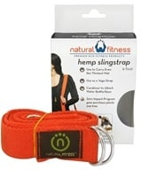 Natural Fitness - Hemp Yoga SlingStrap Flame - 6 ft. (816142010766)