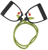 Natural Fitness - Adjustable Resistance Tube - Medium - Olive by Natural Fitness
