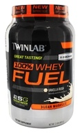 Image of Twinlab - 100% Whey Fuel Vanilla Rush - 2 lbs.