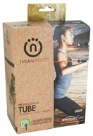 Natural Fitness - Pro Resistance Tube - Light - Flame - CLEARANCED PRICED by Natural Fitness