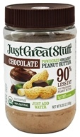 Image of Betty Lou's - Just Great Stuff Organic Powdered Peanut Butter Chocolate - 6.43 oz.