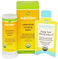 Mambino Organics - Calendula Nursing Balm - 0.63 oz. CLEARANCED PRICED