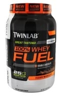 Twinlab - 100% Whey Fuel Double Chocolate - 2 lbs. - $25.37