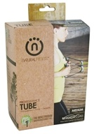 Natural Fitness - Pro Resistance Tube - Medium - Moss - CLEARANCED PRICED by Natural Fitness