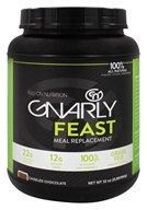 Gnarly Nutrition - Feast Meal Replacement Grass Fed Chiseled Chocolate - 32 oz. CLEARANCED PRICED by Gnarly Nutrition