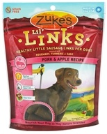 Image of Zuke's - Lil Links Dog Treats Pork & Apple Recipe - 6 oz.