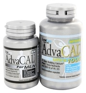 Lane Labs - AdvaCAL Ultra 1000 with Trial AdvaCAL for Men - 120 Capsules/42 Capsules - $24.95