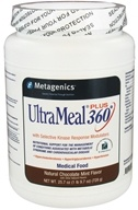 Image of Metagenics - UltraMeal Plus 360 Medical Food Natural Chocolate Mint Flavor - 25.7 oz.