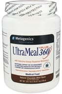 Metagenics - UltraMeal Plus 360 Medical Food Natural Chocolate Mint Flavor - 25.7 oz. by Metagenics
