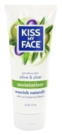Image of Kiss My Face - Moisturizer Sensitive Olive & Aloe - 6 oz.