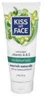 Image of Kiss My Face - Moisturizer Antioxidant Vitamin A & E - 6 oz.