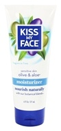 Kiss My Face - Moisturizer Sensitive Skin Olive & Aloe Fragrance Free - 6 oz.