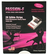 Image of Neutralean - Passion-F Natural Female Libido Enhancer Wintergreen-Cherry - 28 Strip(s)