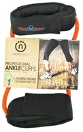 Natural Fitness - Professional Ankle Cuffs - Light - Flame - CLEARANCED PRICED by Natural Fitness