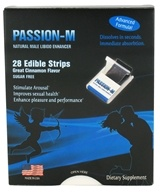 Neutralean - Passion-M Natural Male Libidio Enhancer Cinnamon - 28 Strip(s) - $22.99