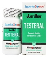 Image of Superior Source - Just Men Testeral - 60 Tablet(s)