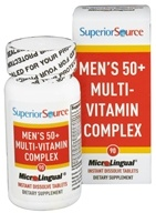 Superior Source - Men's 50+ Multi-Vitamin Complex Instant Dissolve - 90 Tablet(s) (076635906505)