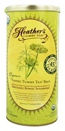 Heather's Tummy Care - Tummy Tea Organic Fennel Extra Large Tea Bags - 45 Tea Bags (180616000080)