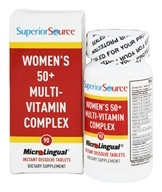 Superior Source - Women's 50+ Multi-Vitamin Complex Instant Dissolve - 90 Tablet(s)