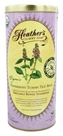 Image of Heather's Tummy Care - Tummy Tea Organic Peppermint Extra Large Tea Bags - 36 Tea Bags