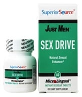 Superior Source - Just Men Sex Drive - 60 Tablet(s), from category: Herbs
