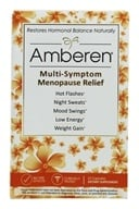 Amberen - Relieves Common Menopausal Symptoms - 60 Capsules (899234001019)