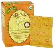 Heather's Tummy Care - Tummy Fiber Organic Acacia Senegal Powder - 25 x 2.5g Travel Packets, from category: Nutritional Supplements