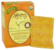 Heather's Tummy Care - Tummy Fiber Organic Acacia Senegal Powder - 25 x 2.5g Travel Packets by Heather's Tummy Care
