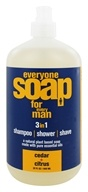 Image of EO Products - Everyone Soap for Men Cedar & Citrus - 32 oz.