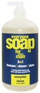 Image of EO Products - Everyone Soap for Men Cucumber & Lemon - 32 oz.