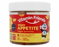 Vitamin Friends - Boost Appetite Vegetarian Orange - 36 Gummies (854532002359)