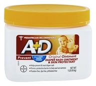 A+D - Original Ointment - 16 oz., from category: Personal Care