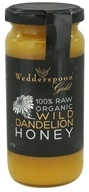 Wedderspoon Organic - 100% Raw Organic Wild Dandelion Honey - 11.46 oz. LuckyPrice