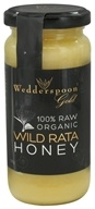 Wedderspoon Organic - 100% Raw Organic Wild Rata Honey - 11.46 oz.