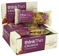 Think Products - thinkThin Crunch Bar Cherry Mixed Nuts - 1.41 oz. (753656709154)