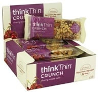 Think Products - thinkThin Crunch Bar Cherry Mixed Nuts - 1.41 oz.