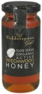 Image of Wedderspoon Organic - 100% Raw Organic Active Beechwood Honey - 11.46 oz.