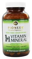 Pioneer - 1+1 Vitamin Mineral Iron-Free - 60 Vegetarian Capsules, from category: Vitamins & Minerals