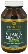 Pioneer - Vitamin Mineral - 180 Tablets by Pioneer