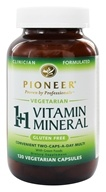 Pioneer - 1+1 Vitamin Mineral - 120 Vegetarian Capsules, from category: Vitamins & Minerals