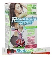 Image of AllMax Nutrition - Rapid Cuts Femme Fat Burner for Women Berry Fruit Punch - 22 Packet(s) CLEARANCED PRICED