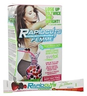 AllMax Nutrition - Rapid Cuts Femme Fat Burner for Women Berry Fruit Punch - 22 Packet(s) CLEARANCED PRICED