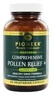 Pioneer - Comprehensive Pollen Relief+ - 60 Vegetarian Capsules, from category: Herbs