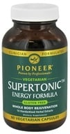 Pioneer - Supertonic Energy Formula - 60 Vegetarian Capsules CLEARANCED PRICED (032811000214)